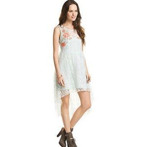 Free People Russian Nest High Low Lace Dress